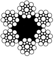 Канат ГОСТ 3077-80, 10,5мм, ГЛ, С, б/см