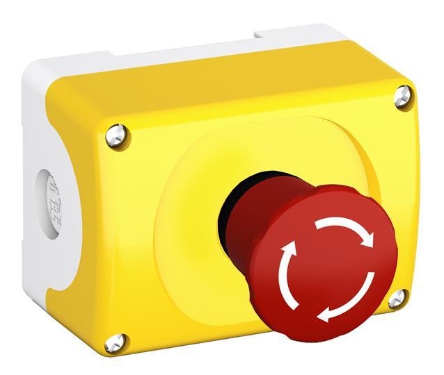 Кнопка СТОП в сборе с постом