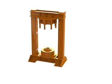 Стол-экстрактор в сборе (с домкратом) (для роликов БКД).